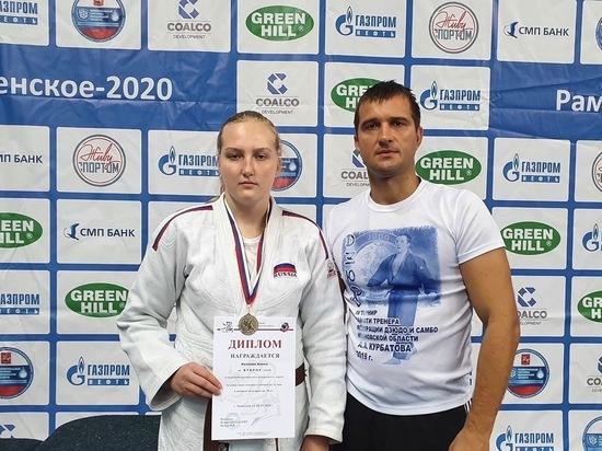 Ивановская дзюдоистка стала второй на первенстве Центрального федерального округа