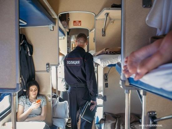 Пьяный забайкалец напал на полицейского в поезде