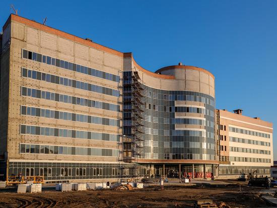 Новый корпус онкоцентра в Волгограде строится по графику