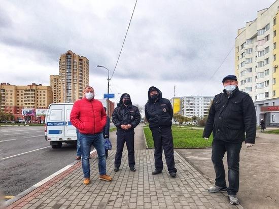 Полиция нашла в Пскове пассажиров без масок