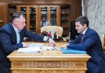 Глава Ямала рассказал Хуснуллину о строительстве жилья и дорог в регионе