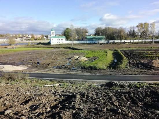 Новый мост появится около Мирожского монастыря в Пскове через неделю