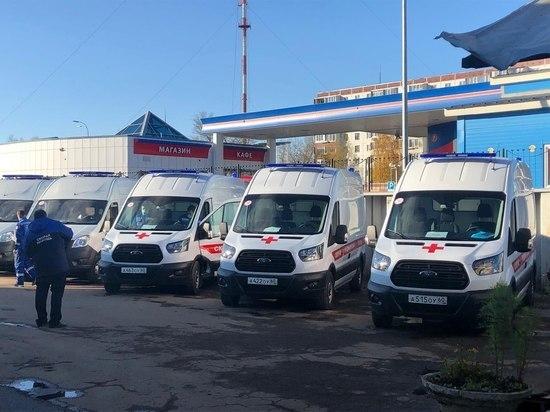 9 районов и Псков получат новые машины скорой помощи