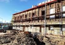 Готовность реставрации усадьбы Беклешова в Пскове составляет 80%