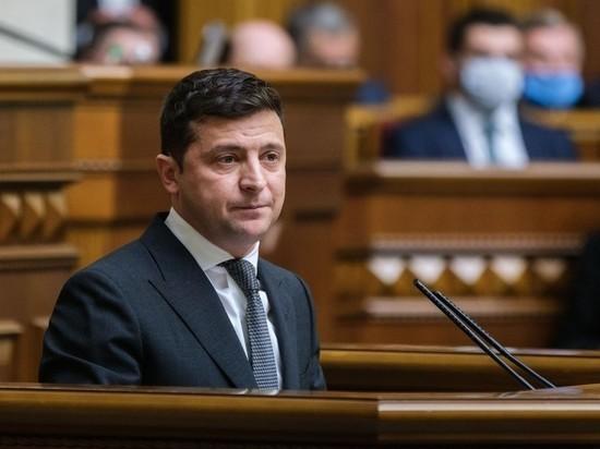 Президент Украины Владимир Зеленский наконец-то обратился к парламенту и народу страны с ежегодным посланием