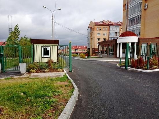 В Чебоксарах ТСЖ обязали убрать забор и пост охраны с муниципальной земли