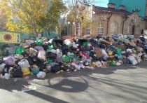 Жители Оренбурга призывают нести мусор к администрации города