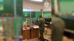 В лобненской школе взорвался боеприпас времен ВОВ: видео с места