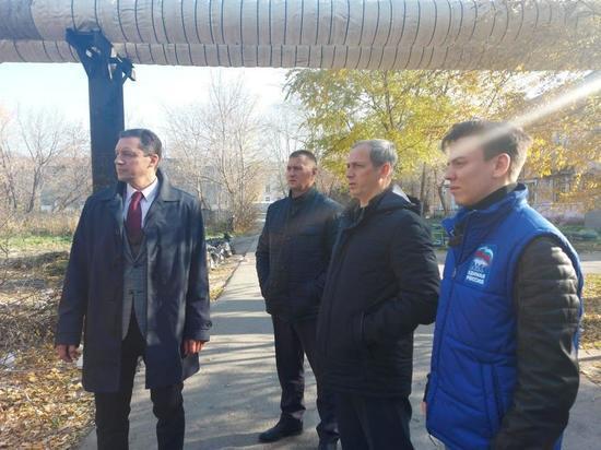 """""""Чистая страна"""" проинспектировала контейнерные площадки в Омске"""