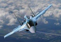 Самолёт Су-34 упал в Хабаровском крае