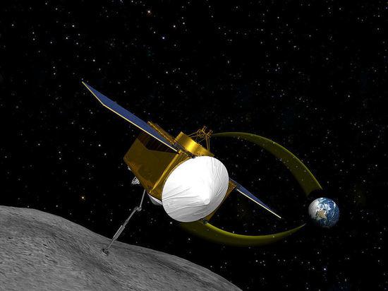Американцы взяли образцы пыли с угрожающего Земле астероида