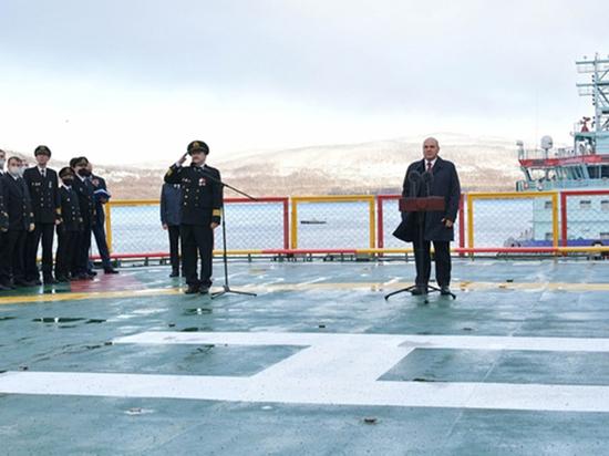 В Мурманске Михаил Мишустин принял в строй новый атомоход «Арктика»: когда на нем поставят еще один двигатель, он станет самым мощным ледоколом в мире