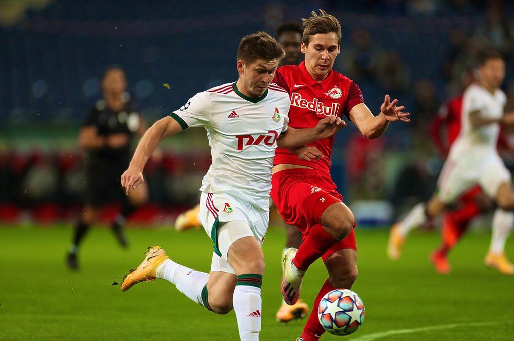 «Локомотив» и «Зальцбург» устроили шоу: забили четыре гола на двоих