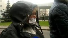 Подавленное состояние гражданской жены Сергея Захарова сняли на видео