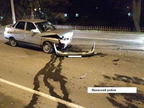 В Яранске из-за пьяного водителя травмировалась женщина