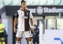 СМИ: Роналду снова сдал положительный тест на коронавирус
