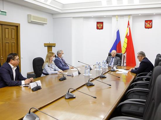 Состоялась рабочая встреча депутатов Воронежской облдумы с руководством департамента здравоохранения