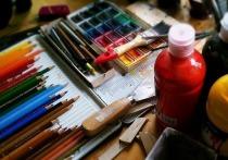 В Пущино открылась выставка юных художников