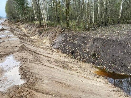 Более 250 млн рублей потратят на ремонт дороги в Усвятском районе