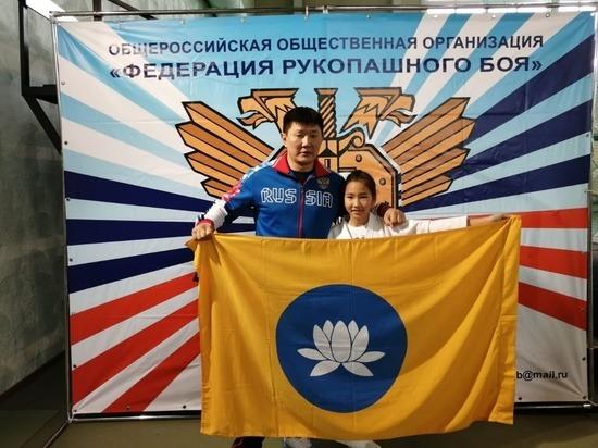 Дочь калмыцкого полицейского стала чемпионкой по рукопашному бою