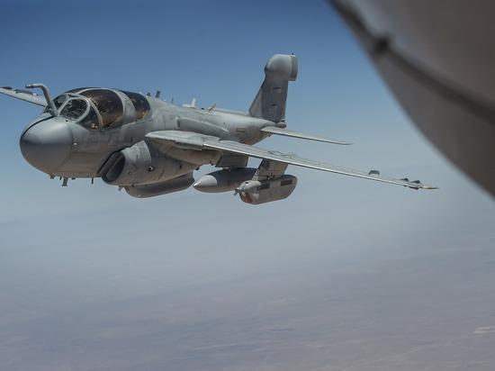 Самолет ВВС США разбился в Алабаме