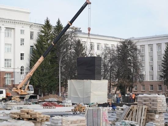 В Уфе опробовали макет будущего памятника Шаймуратову