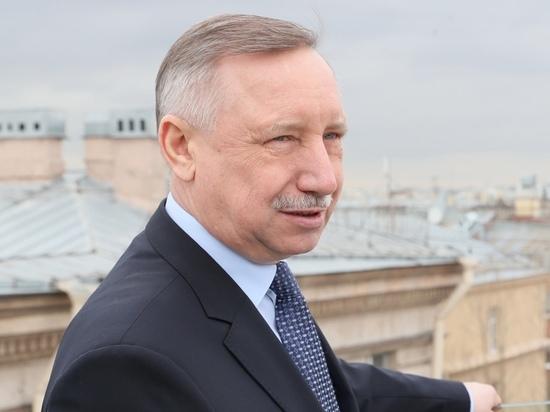 Губернатор Петербурга ушел на удаленку из-за коронавируса