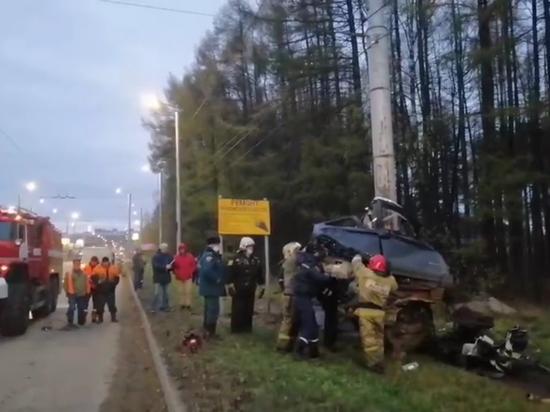 В страшном ДТП в Ивановской области погибли 5 человек