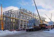 На площадку подстанции «Блуждающий» Удоканского горно-металлургического комбината доставлен третий, самый мощный трансформатор мощностью 100 мегаватт и весом свыше 130 тонн