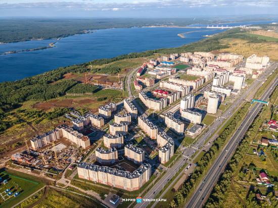 В Чебоксарах идет строительство 87 многоквартирных домов