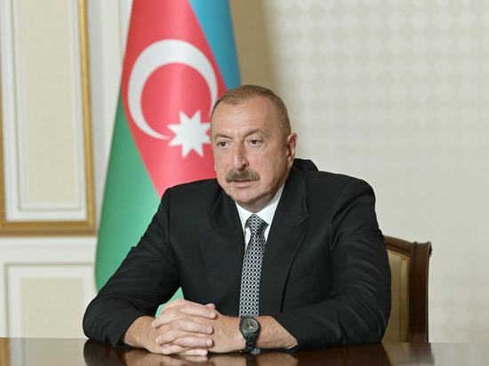 Алиев заявил о намерении идти до конца в Карабахе