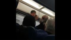 Авиапассажира сняли с рейса за крики о террористах: видео