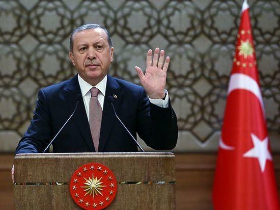 Эрдоган призвал турков к бойкоту французских товаров