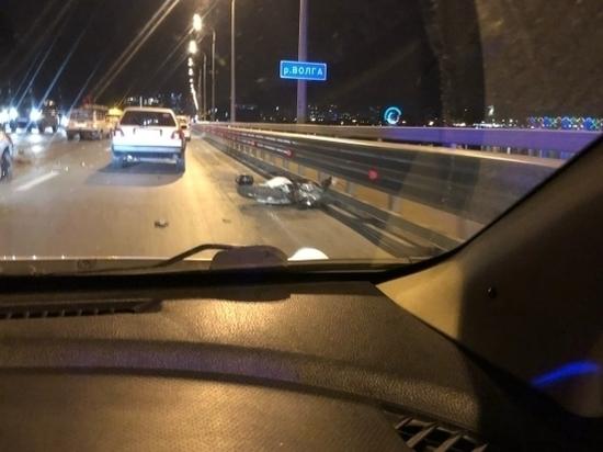 На «танцующем» мосту в Волгограде произошла трагедия