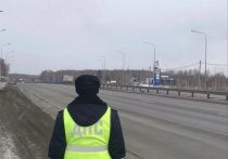 В Челябинской области ГИБДД вывела на дороги дополнительные экипажи из-за снегопада