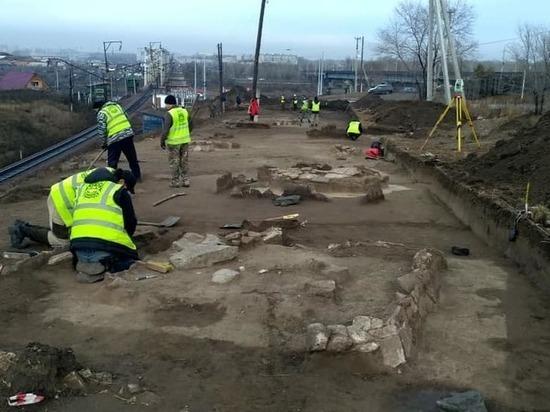 Археологические раскопки: в черте Абакана нашли древнее кладбище