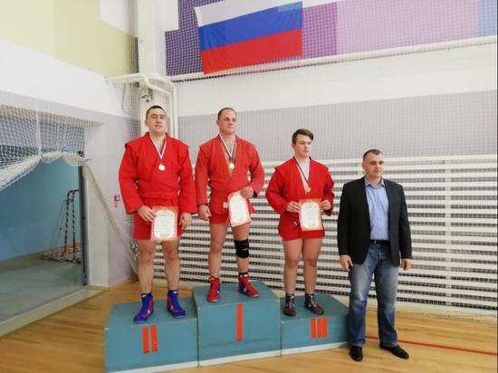 Псковский полицейский занял призовое место на чемпионате по самбо