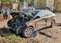 Водитель в Тверской области врезался в иномарку и та сбила пенсионерку