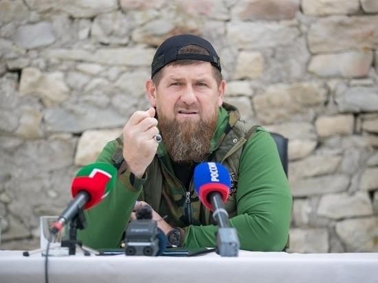 Глава Чечни сравнил президента Чечни с террористом