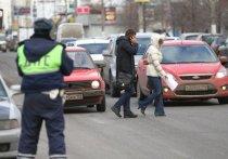 В Черногорске за день десять пешеходов получили штрафы или предупреждения