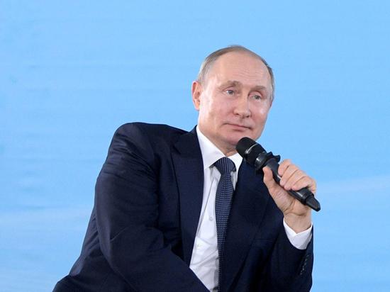 """Путин пошутил о """"ни в чем не повинных"""" летучих мышах"""