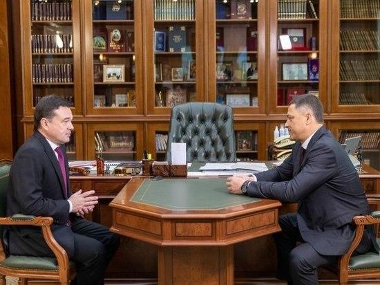 Псковский губернатор обсудил с властями Московской области направления сотрудничества