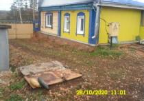 В Аксаково нашли загадочный склеп