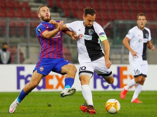 У ЦСКА есть большие шансы на выход в плей-офф Лиги Европы