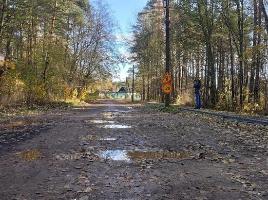Псковский подрядчик сорвал сроки ремонта улицы из-за проблем со щебнем