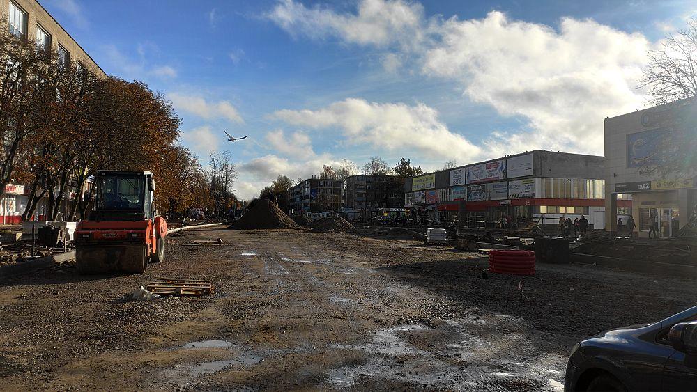 Город кротов: как обстоят дела с реконструкциями дорог в Пскове