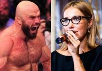 «Ты тупое животное»: боец ММА накинулся на Собчак за поддержку Макрона