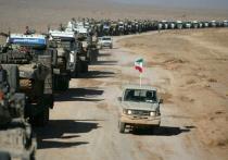 Иран стягивает к северной границе войска в ответ на случайные обстрелы