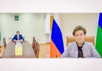 Глава Березовского района доложил губернатору о развитии территории