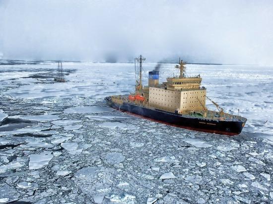 «Огромное количество замороженного метана», сконцентрированного на дне моря Лаптевых  начинает выделяться в атмосферу  в русской Арктике